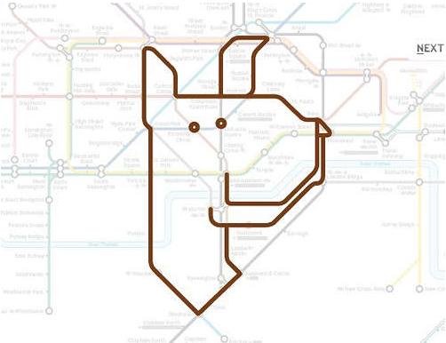 【惊】伦敦地铁里有座动物园