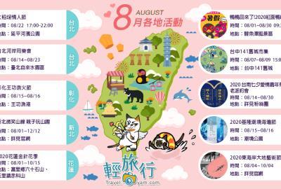 8月全台各地推薦活動:不管幾歲都要FUN暑假~