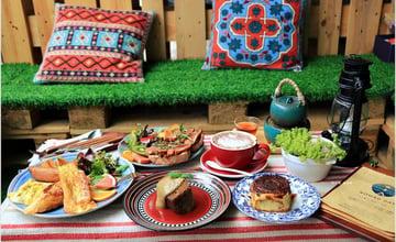 南投魚池|遊牧Nomad day café:鄰近日月潭文青咖啡館,法式傳統美食、波西米亞風超好拍